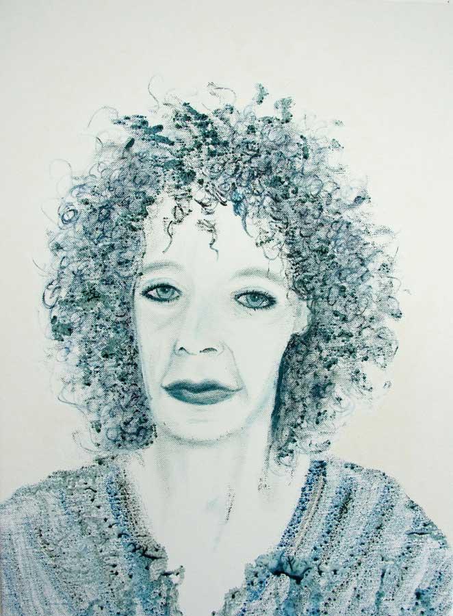 Marianne Dijkstra, 2016, Daydreaming, 50x60 cm, olie op doek