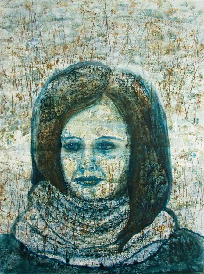 Marianne Dijkstra, 2016, Inner peace, 50x60 cm, olie op doek