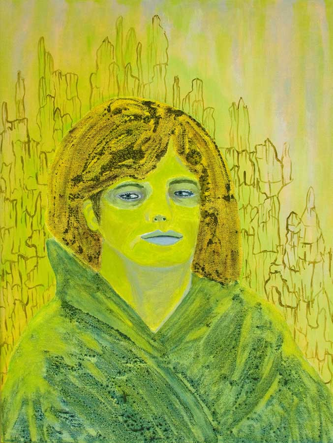Marianne Dijkstra, 2016, Reflection, 50x60 cm, olie op doek