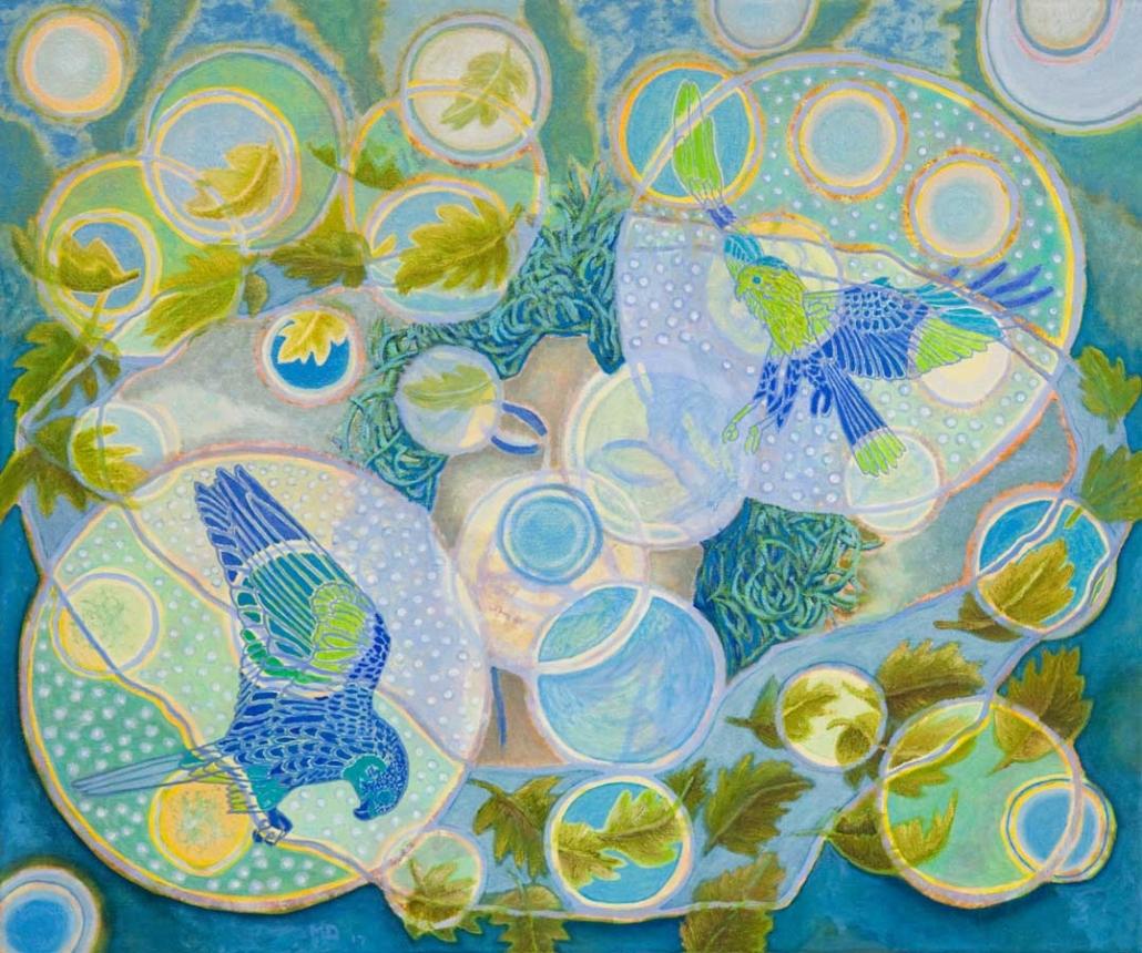 Marianne Dijkstra, 2017, Daydream, 60x50 cm, olie op doek