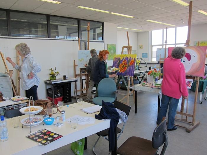 cursussen - Marianne Dijkstra - beeldend kunstenaar